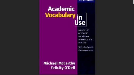 """Chia sẻ sách tiếng anh """"Academic Vocabulary in use"""""""